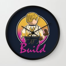 A Real Mini Hero Wall Clock