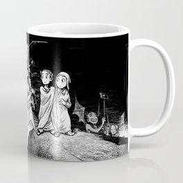 The Inferno: Selfiesticks (linework edition) Coffee Mug