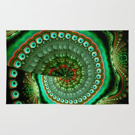 Pretty eyes, swirling pattern abstract Rug