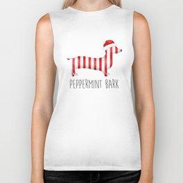 Peppermint Bark Biker Tank