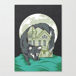 My House Canvas Print