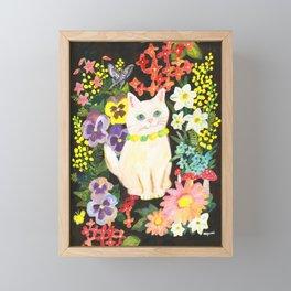 I Am a Cat Framed Mini Art Print