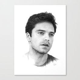 Sebastian  Canvas Print