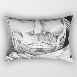 Breaking Out Rectangular Pillow