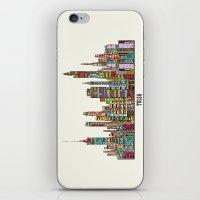 oklahoma iPhone & iPod Skins featuring Tulsa oklahoma by bri.buckley