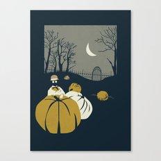 Urban Fae — Pumpkin Patch Canvas Print