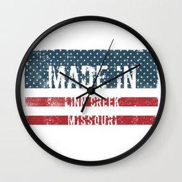Made in Linn Creek, Missouri Wall Clock