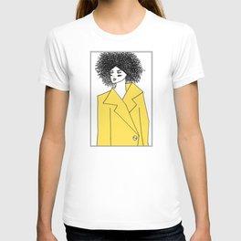 Yellow Coat T-shirt