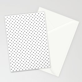 Dotted White Stationery Cards