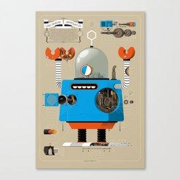 Anatomy Bot Canvas Print