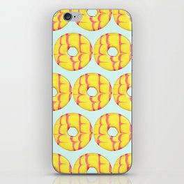 Party Ring Biscuit Pattern iPhone Skin