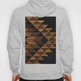 Urban Tribal Pattern 11 - Aztec - Wood Hoody