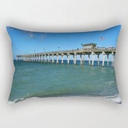 Winter In Florida Rectangular Pillow