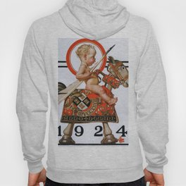 New Year Baby 1924 - Digital Remastered Edition Hoody