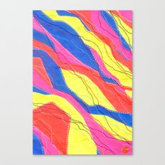 Untitled - Neon Canvas Print