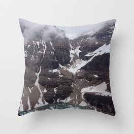 The Top of the Pass Throw Pillow