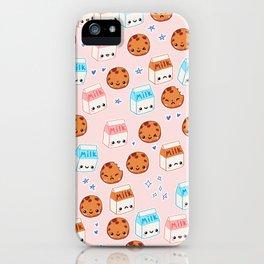 Milk n cookies iPhone Case