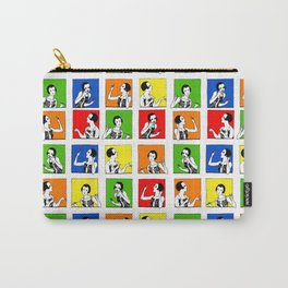 pop art flapper girls Carry-All Pouch