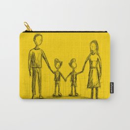 Family - The Twins Carry-All Pouch