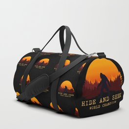 Bigfoot - Hide and Seek World Champion Duffle Bag