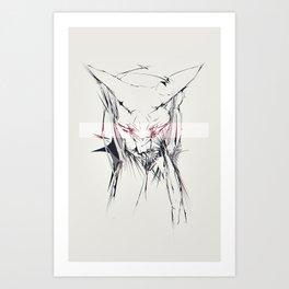sphynx Art Print