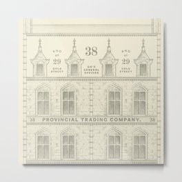 Provincial Trading Co's General Office Metal Print