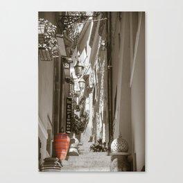 A Colourful Pot Canvas Print