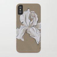 iris iPhone & iPod Cases featuring Iris  by Mich Li