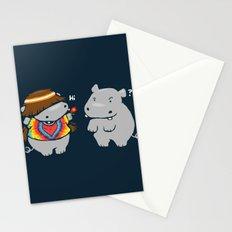 Hippypotamus Stationery Cards