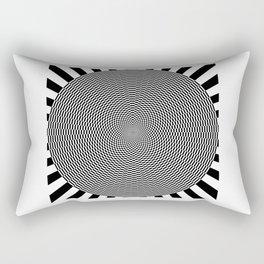 Psycadelic Circle Rectangular Pillow