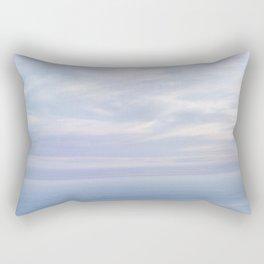 Where Sky and Water Meet Rectangular Pillow