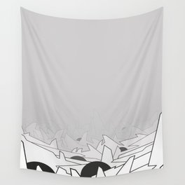 Abstract Graffiti Form Wall Tapestry