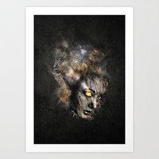 Broken Surface Art Print