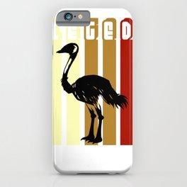 Allegedly Flightless Bird Lover iPhone Case