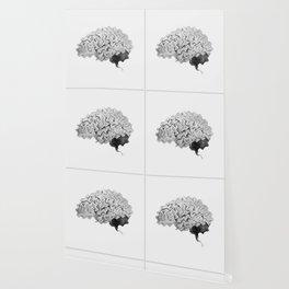 Geometric Brain Wallpaper