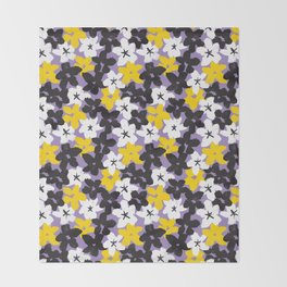Wildflowers Throw Blanket