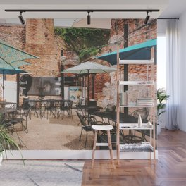 NOLA Dining Courtyard Wall Mural