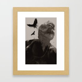 Eagle Boy Framed Art Print
