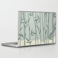 bamboo Laptop & iPad Skins featuring Bamboo by Rceeh