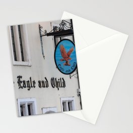 Eagle and Child Pub Oxford England Stationery Cards
