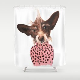Murphy Brown Shower Curtain