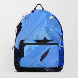 Blue Explosion Backpack