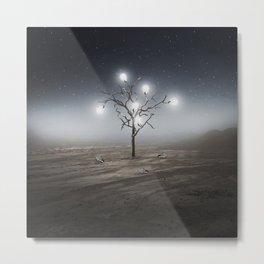 Lights Out Metal Print