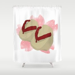 Okobo Geta 2 Shower Curtain