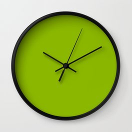 Simply Fresh Spring Apple Green - Mix and Match with Simplicity of Life Wall Clock