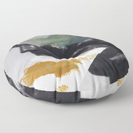 Untitled (Painted Composition 2) Floor Pillow