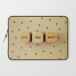 Love You Baby Laptop Sleeve