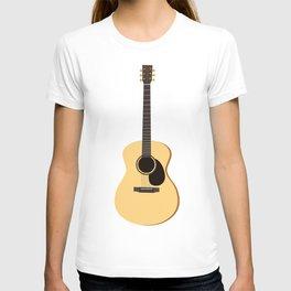 Acoustic Guitars Pattern T-shirt