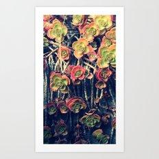 Fall out Art Print