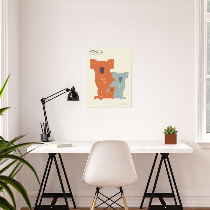 Koalas Poster